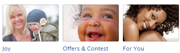 baby New Facebook Pages: Application Icon Examples