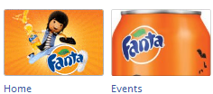 fanta New Facebook Pages: Application Icon Examples