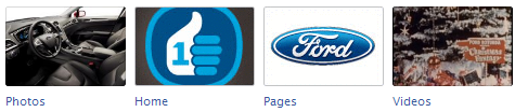 ford New Facebook Pages: Application Icon Examples