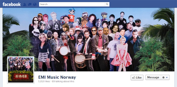 umgnorway2 New Facebook Pages: Music Industry Examples