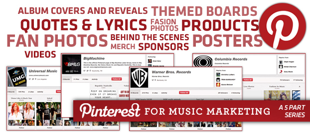 main pinterest3 How Music Labels are Using Pinterest to Market Music: Examples & Best Practices
