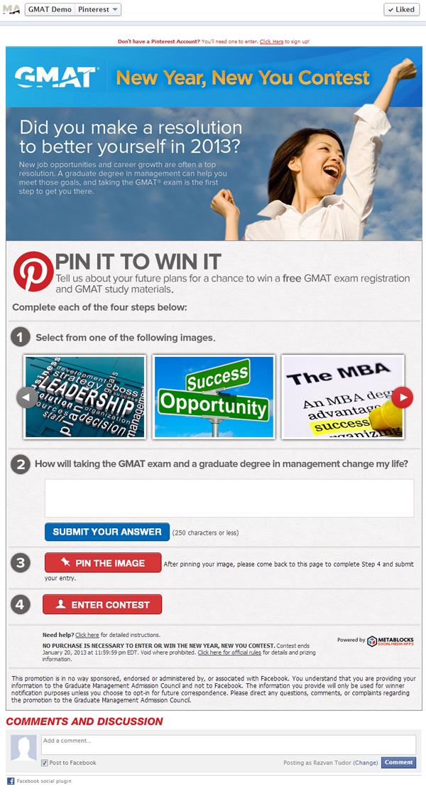 600 gpin fb GMAT Scores Big with Pinterest Contest