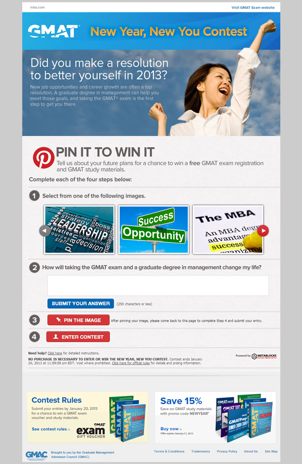 600 gpin mba GMAT Scores Big with Pinterest Contest