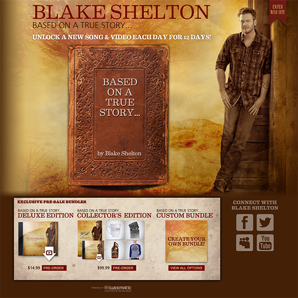 600 bsb 1 Application Spotlight: Blake Shelton   Based On a True Story...