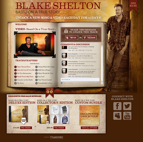 600 bsb 2 Application Spotlight: Blake Shelton   Based On a True Story...