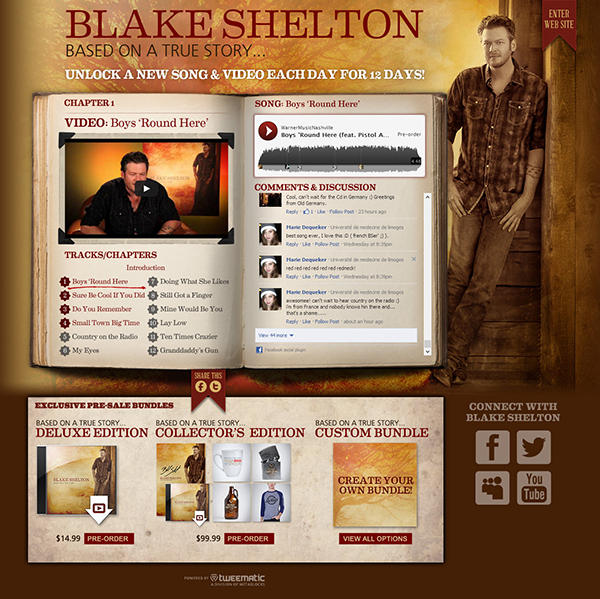 600 bsb 3 Application Spotlight: Blake Shelton   Based On a True Story...