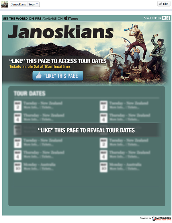"600 jano fb prefan Spotlight: Janoskians Tour Dates ""Like Gated"" Application"