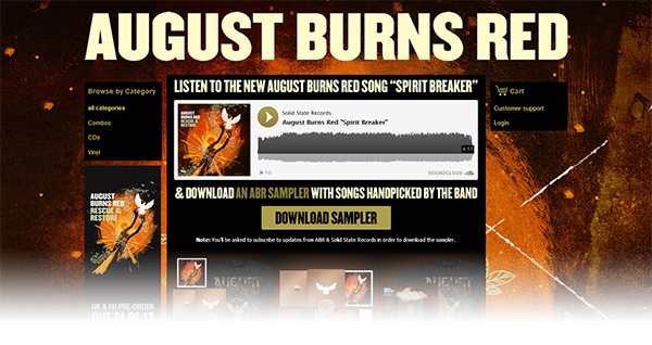 600 abr page b Application Spotlight: August Burns Red Subscribe to Download Widget