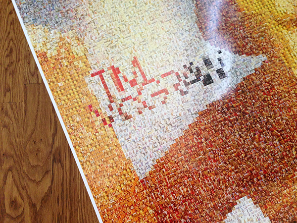 large format mosaic poster - twitter mosiac