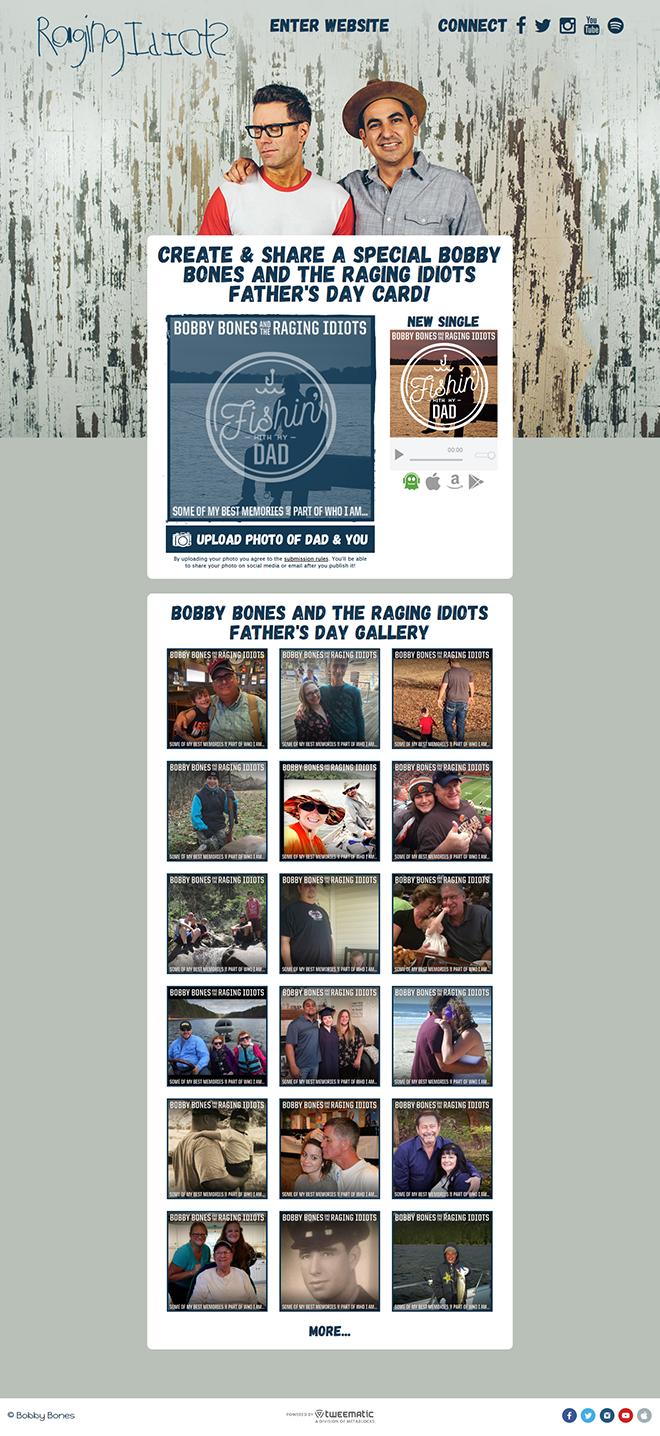 Bobby Bones Fathers Day App – Metablocks
