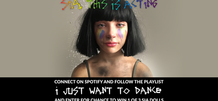 Protected: Sia Spotify Sweepstakes