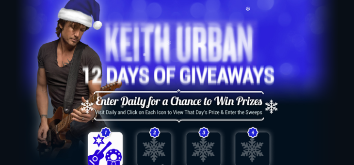 Keith Urban Holiday Sweeps 2016