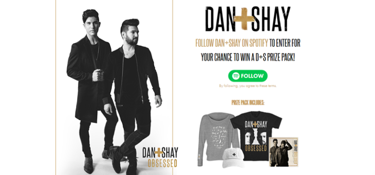 Dan + Shay Obsessed Spotify Sweeps