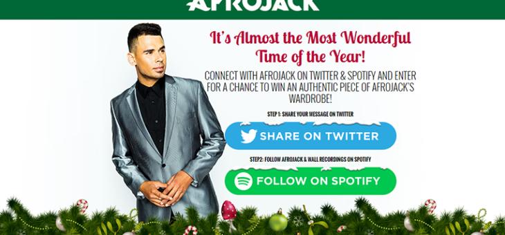 AfroJack Spotify Twitter Sweeps