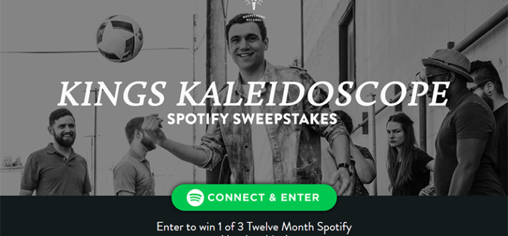 Gospel Song Records Spotify Sweeps