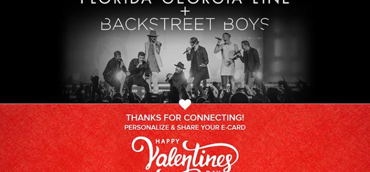 Florida Georgia Line Valentine's Card