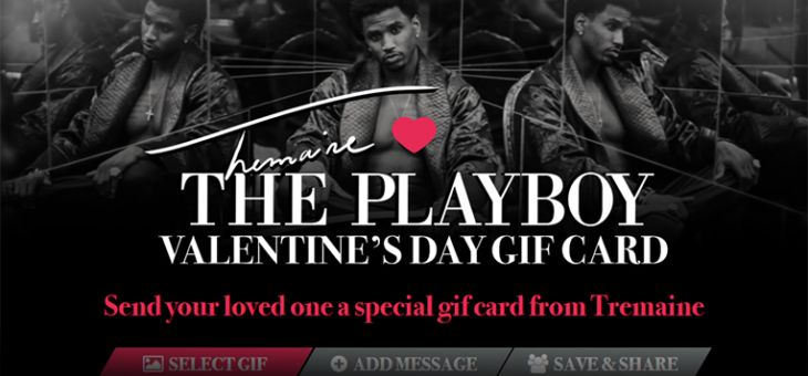 Trey Songz Valetine's Day Card