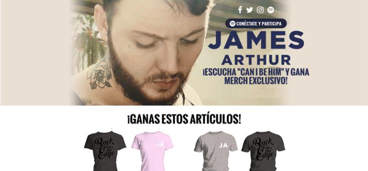 James Arthur Spotify Sweeps