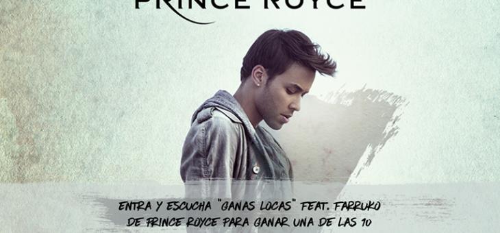 Prince Royce Spotify 'Five' Spotify Stream to Enter Sweeps