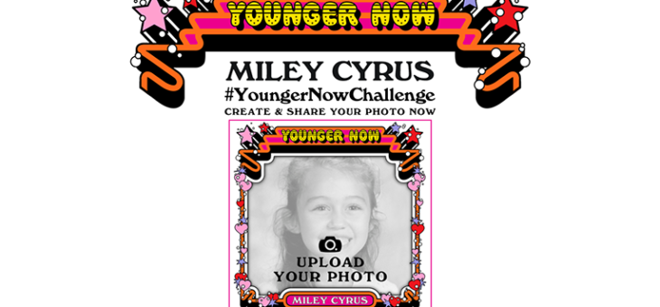 "Miley Cyrus – ""Younger Now"" Photo Booth"