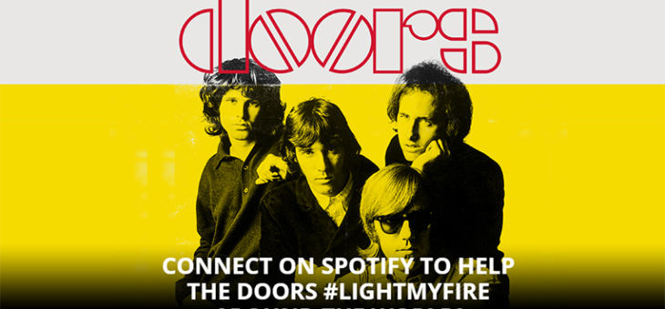 The Doors – 50 Years Anniversary Spotify Activation