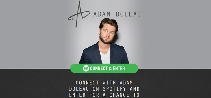 Adam Doleac Spotify Sweepstakes
