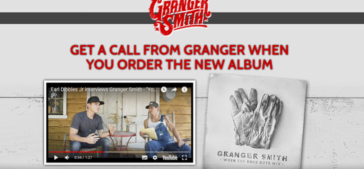 Granger Smith Phone Call Redeem