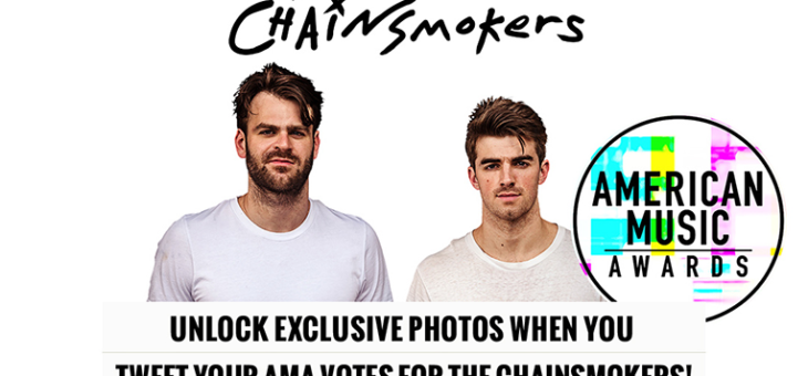 The Chainsmokers AMA Voting