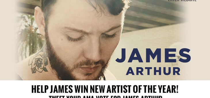 James Arthur AMA Voting