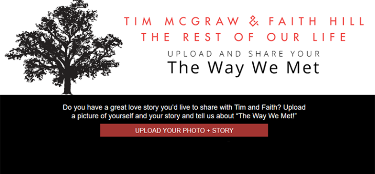 Tim McGraw Photo Upload – The Way We Met
