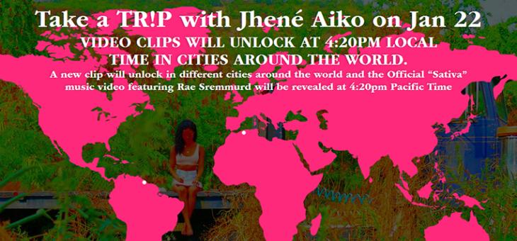 Jhené Aiko Video Reveal