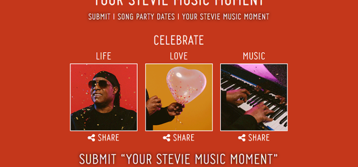 Stevie Wonder – 'Your Stevie Wonder Moment'