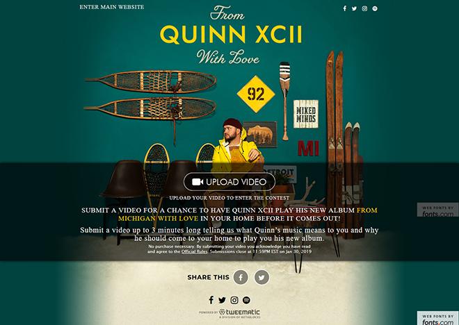 Quinn XCII Video Contest – Metablocks