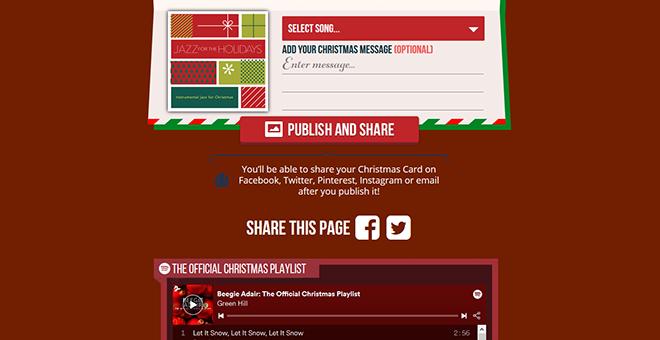 Beegie Adair Christmas E-Card