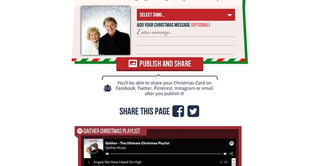 Gaither Christmas E-Card