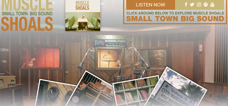 Muscle Shoals Microsite